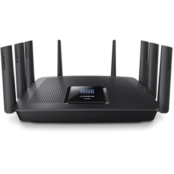 Router Linksys EA9500, 802.11 b/a/g/n/ac, 2.4 / 5 GHz, 1000 / 2165 Mbps