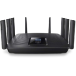 Router Linksys EA9500, 802.11 b/a/g/n/ac, 2.4 / 5 GHz, 1000 /...