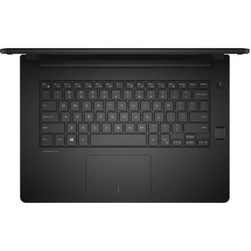 Laptop Dell N001L347014EMEA_U, Intel Core i3-5005U, 4 GB, 500 GB, Linux, Negru