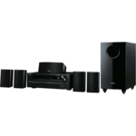 Sistem home cinema Onkyo HT-S3705, 5.1 canale, 400 W, USB, HDMI, Bluetooth, Negru