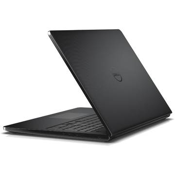 Laptop Dell DI3558I54500920DS, Intel Core i5-5200U, 4 GB, 500 GB, Linux, Negru