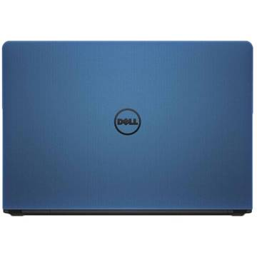 Laptop Dell DI5559I54500R5DS, Intel Core i5-6200U, 4 GB, 500 GB, Linux, Albastru