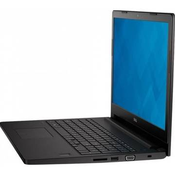 Laptop Dell N002L356015EMEA_W, Intel Core i5-5200U, 4 GB, 500 GB, Microsoft Windows 7 Pro + Microsoft Windows 10, Negru