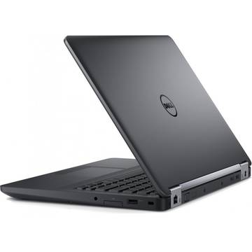 Laptop Dell N004LE5470U14EMEAW, Intel Core i3-6100U, 4 GB, 500 GB, Microsoft Windows 7 Pro + Microsoft Windows 10 Pro, Negru