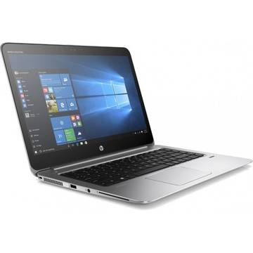 Laptop HP V1A85EA, Intel Core i7-6500U, 8 GB, 512 GB SSD, Microsoft Windows 7 Pro + Microsoft Windows 10 Pro, Gri / Argintiu