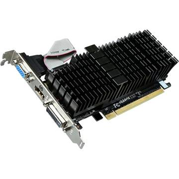 Placa video Gigabyte GeForce GT 710 Silent, 1 GB DDR3, 64 bit Low profile