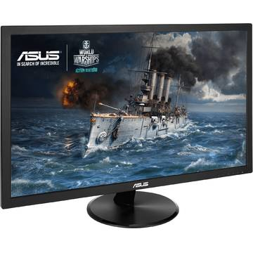 Monitor Asus VP228TE, 21.5 inch, Full HD, 1 ms GTG, Negru