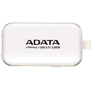 Memory stick A-Data UE710, 128 GB, USB 3.0, Alb