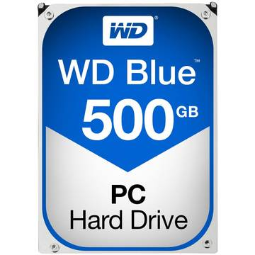 Hard Disk WD Blue, 500 GB , 5400 RPM, 64 MB, SATA 3