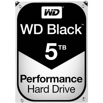 Hard Disk WD Black, 5 TB, 7200 RPM, 128 MB, SATA 3