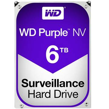 Hard Disk WD Purple, 6 TB, IntelliPower RPM, 64 MB, SATA 3