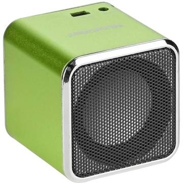 Boxe TECHNAXX MusicMan Mini BT-X2, 3 W RMS, Bluetooth, Verde