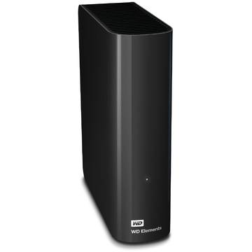 Hard Disk extern WD Elements Desktop, 5 TB, 3.5 inch, USB 3.0, Negru