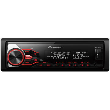 Player auto Pioneer MVH-181UB, 4 x 50 W, USB, AUX, Android, Panou frontal detasabil