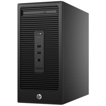 Sistem desktop HP 280 G2, Intel Core i3-6100, 4 GB, 500 GB, Free DOS, Negru