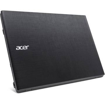Laptop Acer Aspire E5-573G-310L, Intel Core i3-5005U, 4 GB, 1 TB, Linux, Negru / Gri