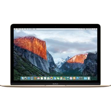 Laptop Apple MacBook, Intel Core M5, 8 GB, 512 GB  SSD, Mac OS X El Capitan, Auriu