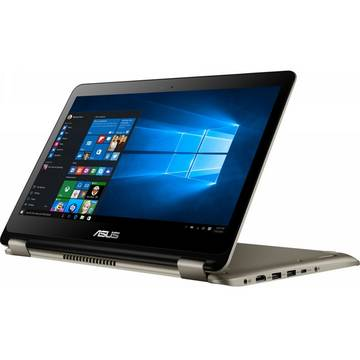 Laptop Asus VivoBook Flip TP301UJ, Intel Core i5-6200U, 6 GB, 1 TB, Microsoft Windows 10 Home, Auriu