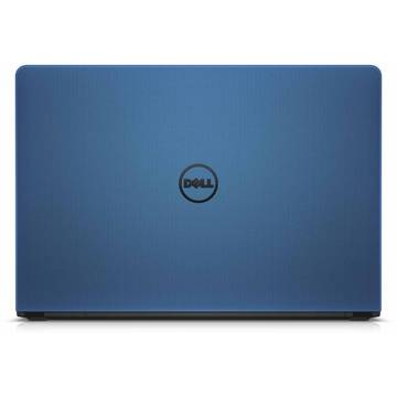 Laptop Dell Inspiron 5559 (seria 5000), Intel Core i7-6500U, 8 GB, 1 TB, Microsoft Windows 10 Home, Albastru