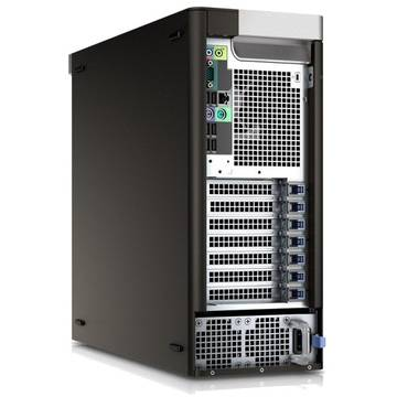 Sistem desktop Dell Precision T7810 MT, Intel Xeon E5-2650, 32 GB, 1 TB + 256 GB SSD, Microsoft Windows 7 Pro + Microsoft Windows 8.1