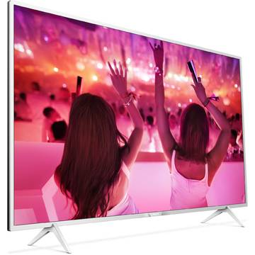 Televizor Philips PFS5501/12, 80 cm, Full HD, Smart TV, Argintiu