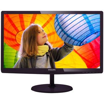Monitor Philips 247E6LDAD/00, 23.6 inch, Full HD,1 ms, Negru