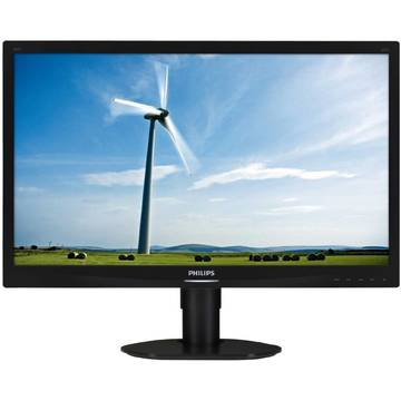 Monitor Philips 241S4LCB/00, 24 inch, Full HD, 5 ms, Negru