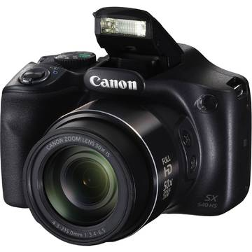 Camera foto Canon SX540 HS, 20.3 MP, Negru