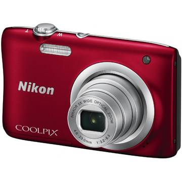 Camera foto Nikon COOLPIX A100, 20.1 MP, Rosu