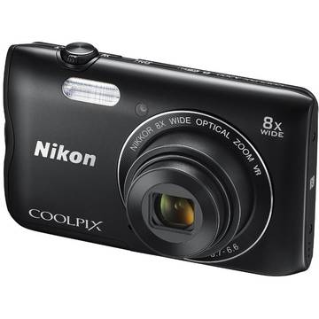Camera foto Nikon COOLPIX A300, 20.1 MP, Negru