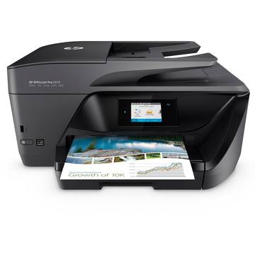 Multifunctional HP Officejet Pro 6970, Inkjet, Color, A4, Negru