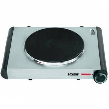 Plita electrica Trisa Speady Cook, 7752.75, 1 Arzator, 1500 W, Alba