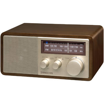 Radio Sangean WR-11 BT, FM/AM, Bluetooth, Maro