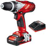 Einhell Masina de gaurit Einhell Power-X-Change TE-CD 18 Li, 18 V, 1.5 Ah, 1350 RPM, acumulator Li-Ion