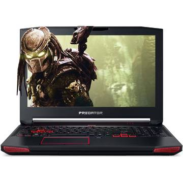 Laptop Acer Predator G9-593-73J7, Intel Core i7-6700HQ, 15.6 inch, 8GB RAM, SSB 256GB, Linux, Negru