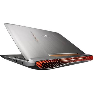 Laptop Asus G752VS-BA178T, Intel Core i7-6700HQ, 17.3 inch, 32GB RAM, 1TB + SSD 256GB, Win 10 Home, Gri
