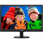 Monitor Philips 193V5LSB2/10 LED, 18.5 inch, Wide, Negru