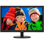 Monitor Philips 223V5LSB LED, 21.5, Wide, Full HD, VGA, Negru