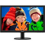 Monitor Philips 233V5LHAB LED, 23, Wide, Full HD, HDMI, Boxe, Negru