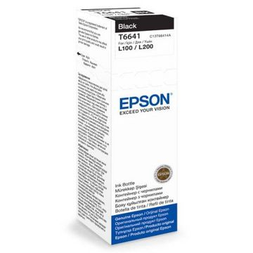 Epson Cartus C13T66414A, 70 ml, Black
