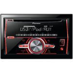 Player auto Pioneer FH-460UI, 4 x 50W, USB