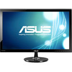 Monitor Asus VS278H, 27 inch, Wide, Full HD, VGA, HDMI, Negru