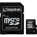 Card de memorie Kingston microSDHC 32GB, Class 4 + Adaptor