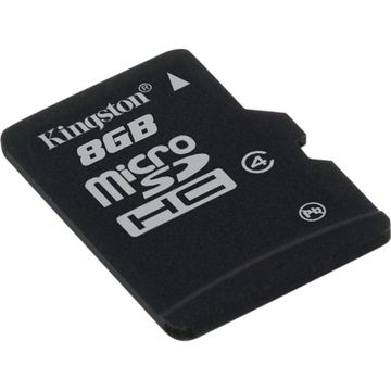 Card de memorie Kingston microSDHC 8GB Class 4