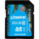 Card de memorie Kingston SDHC 32GB, Ultimate, Class 10, USH-I