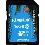 Card de memorie Kingston SDHC UHS-I 16GB, Ultimate, Class 10