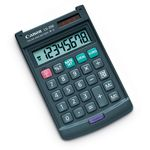 Calculator de birou Canon LS39EBL, 8 digiti, display LCD, Gri