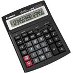 Calculator de birou Canon WS1610T, 16 digiti, display LCD, alimentare solara si baterie