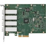 Placa de retea Intel E1G44HFBLK, Ethernet Server Adapter I340-F4, bulk