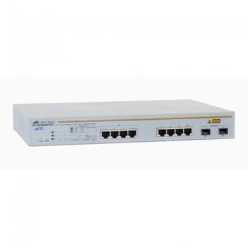 Switch Allied Telesis AT-GS950/8POE-50, 8 x 10/100/1000, 2 SFP